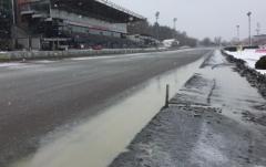 Tjällossning ställer till det för tisdagens V64-tävlingar på Solvalla. Foto av Foto: Svensk Travsport
