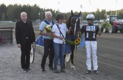 Tekno Eld tog revansch på Philip Ess i Prinsessan Madeleines Pokal på torsdagen. Foto av Christer Norin/ALN