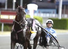 Very Kronos höll ordning på benen och passerade miljonen insprunget när han på torsdagen vann i Örebro. Foto av Micke Gustafsson/TR Bild