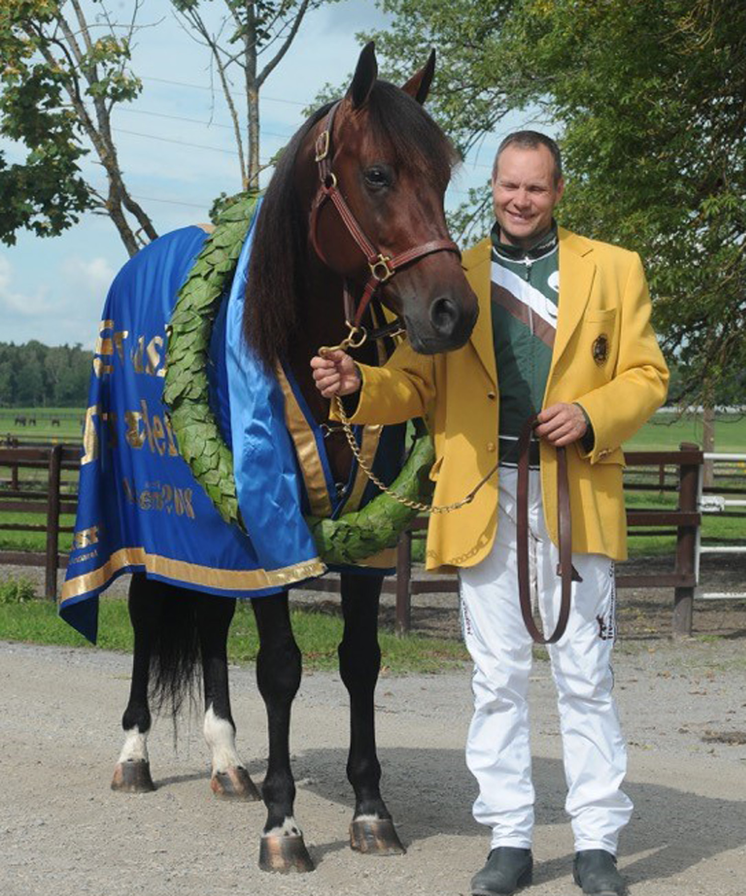 "Derbysegern blev ""A dream come true"" för Pasi med Who's Who. Foto; A.Lindblom"