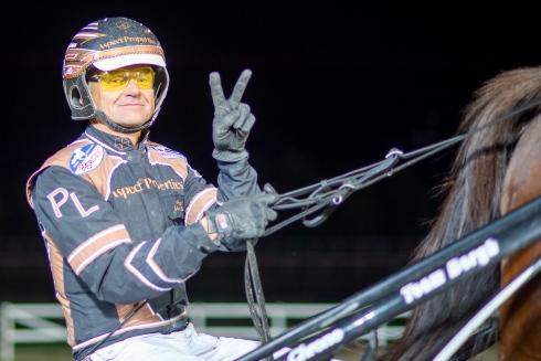 Per Lennartsson kör tre hästar inom V86-spelet på onsdag.Foto av Mikael Rosenquist/TR Bild