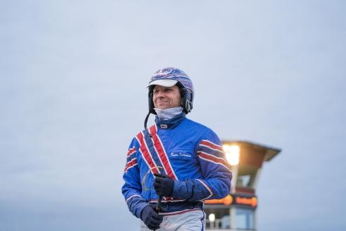 Tomas Pettersson är optimist när V75® gästar hemmabanan Bollnäs.Foto av Ola Westerberg TR Bild