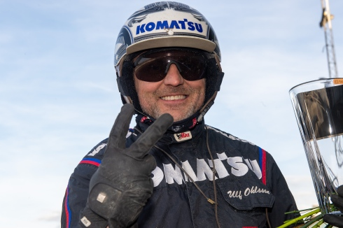 Ulf Ohlsson vinner flest travlopp på svenska travbanor.Foto av Mikael Rosenquist TR Bild